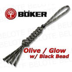 Boker Wilson Tactical Olive Glow Lanyard 09WT009 New