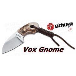 Boker Plus Voxknives Gnome Stag w Sheath 02BO268 New