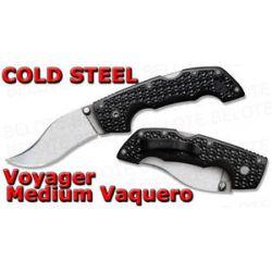 Cold Steel 2011 Voyager Folding Knife Medium Vaquero Blade Plain Edge 29TMV New