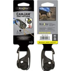 "Nite Ize Camjam Cord Tightener Fits Rope Sizes 1 16"" 3 16"" 2mm 5mm NCJ 02 01"