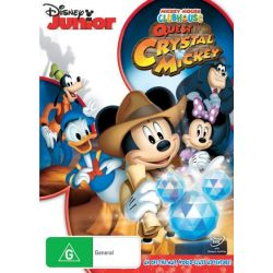 Mickey Mouse Clubhouse on DVD.