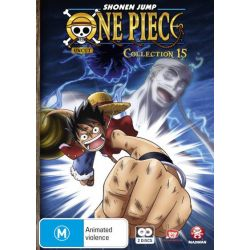 One Piece (Uncut) Collection 15 (Eps 183-195) on DVD.