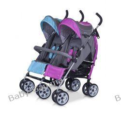Wózek dziecięcy spacerowy bliźniaczy EasyGo Duo Comfort