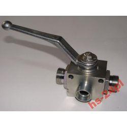 Zawór hydrauliczny kulowy trójdrożny M 22x1,5 500