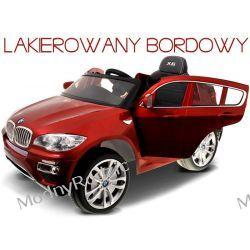 LAKIEROWANE AUTO BMW X6 BORDOWY