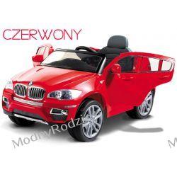 AUTO BMW X6 Kolor Czerwony