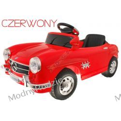 AUTO MERCEDES RETRO 300SL Czerwony