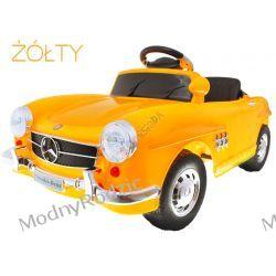 AUTO MERCEDES RETRO 300SL Żółty