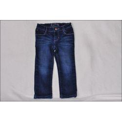 HILFGER * Cudne SPODNIE jeansy Rurki 2-3L - j.NOWE