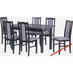 zestaw -III- stół 160x90 + 6 krzeseł MEGA PROMOCJA