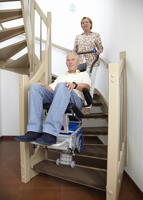 pt-s na schodach zabiegowych