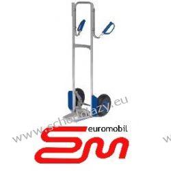 Wózek dwukołowy ręczny aluminiowy taczkowy PISTOL (półka zawiasowa) MODULKAR