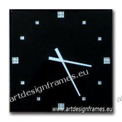 ZE 40 A, nowoczesny zegar ścienny, zegar do salonu, ekskluzywny zegar glamour, oryginalne zegary,