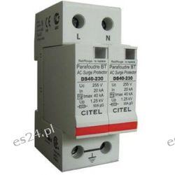 Typ 2 (C) DS42-230, 40/80kA 2p ogranicznik przepięć