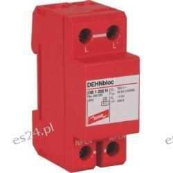 Ogranicznik przepięć DEHNbloc 1 255 H, 1-biegunowy do sieci 230 V AC