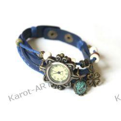 Zegarek KONICZYNA i suszone kwiaty Biżuteria i Zegarki