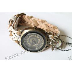 Zegarek skóra SKRZYDLATY SŁOŃ  Biżuteria i Zegarki