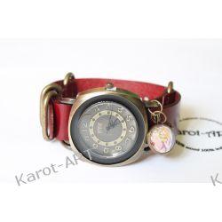 Zegarek skóra SERCE I KWIAT Biżuteria i Zegarki