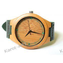 Zegarek z drewna SZMARAGD z kolekcji JEWELS (KLEJNOTY)