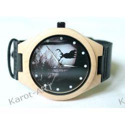 LIMITOWANY! Drewniany zegarek JELEŃ klon