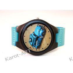 LIMITOWANY! Drewniany zegarek GARBUS heban