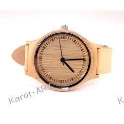 Kobiecy drewniany zegarek BAMBUS