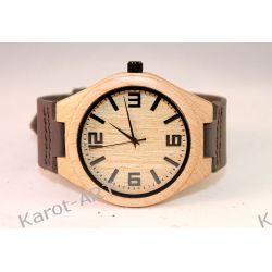Drewniany zegarek KLON szary