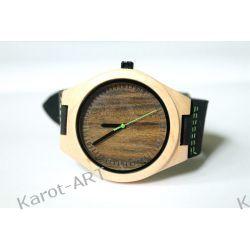 NOWY WZÓR! Drewniany zegarek z sandałowca i klonu