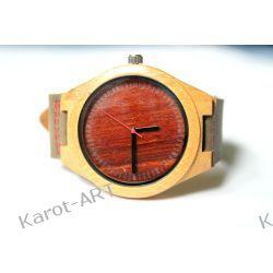 NOWY WZÓR! Drewniany zegarek sandałowiec i bambus