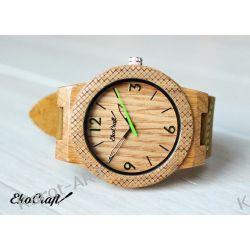 Drewniany zegarek EKOCRAFT OAK WINTER COLLECTION 2016