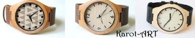 Drewniane zegarki Karot-ART