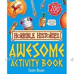 Awesome Activity Book, Horrible Histories by Terry Deary, 9781407103044.
