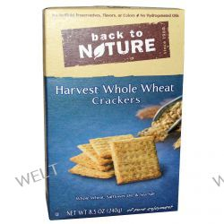 Back to Nature, Harvest Whole Wheat Crackers, 8.5 oz (240 g)