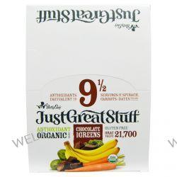 Betty Lou's, Just Great Stuff, Antioxidant Organic Bars, Chocolate Dream Greens, 12 Bars, 1.5 oz (42 g) Each