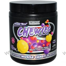 """Betancourt, Glutamine """"Micros"""" Chewies, Sugar-Free Candy, Insane Berry Blend, 8.1 oz (Approx. 567 Tablets)"""