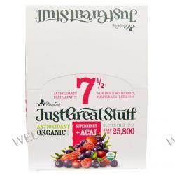 Betty Lou's, Just Great Stuff, Antioxidant Organic Bars, Superberry + Acai, 12 Bars, 1.5 oz (42 g) Each