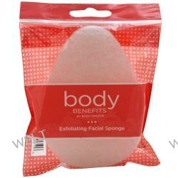 Body Benefits, Exfoliating Facial Sponge, 1 Sponge