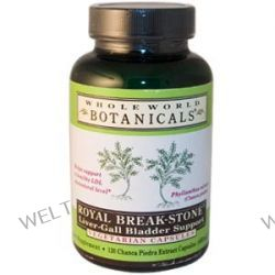 Whole World Botanicals, Royal Break-Stone, Liver-Gall Bladder Support, 400 mg, 120 Veggie Caps