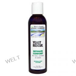Wellinhand Action Remedies, Yeast Rescue, Natural Soap Soother, For Men, Women, and Babies, 6 fl oz (177 ml)