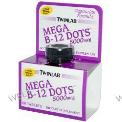 Twinlab, Mega B-12 Dots, 5000 mcg, 60 Tablets