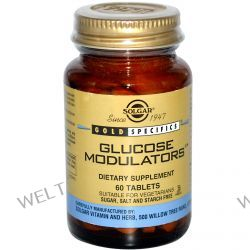 Solgar, Gold Specifics, Glucose Modulators, 60 Tablets