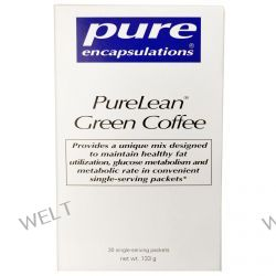 Pure Encapsulations, PureLean Green Coffee, 30 Packets