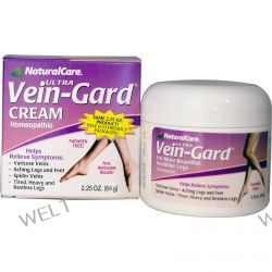 Natural Care, Ultra Vein-Gard Cream, 2.25 oz (64 g)