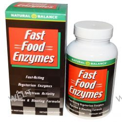 Natural Balance, Fast Food Enzymes, 90 Veggie Caps