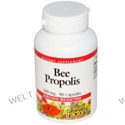 Natural Factors, Bee Propolis, 500 mg, 90 Capsules