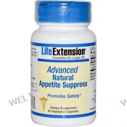 Life Extension, Advanced Natural Appetite Suppress, 60 Veggie Caps