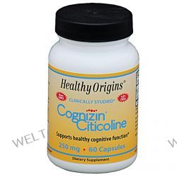 Healthy Origins, Cognizin Citicoline, 250 mg, 60 Capsules