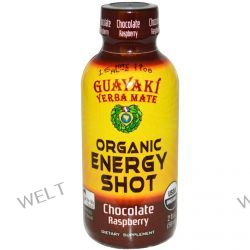 Guayaki, Yerba Mate, Organic Energy Shot, Chocolate Raspberry, 2 fl oz (59 ml)