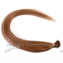 Pasemka włosy 100% Naturalne Remy 45cm