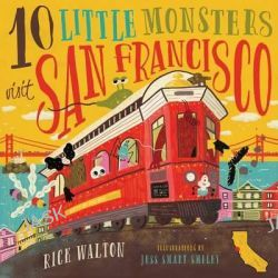 10 Little Monsters Visit San Francisco by Rick Walton, 9781942672999. Po angielsku